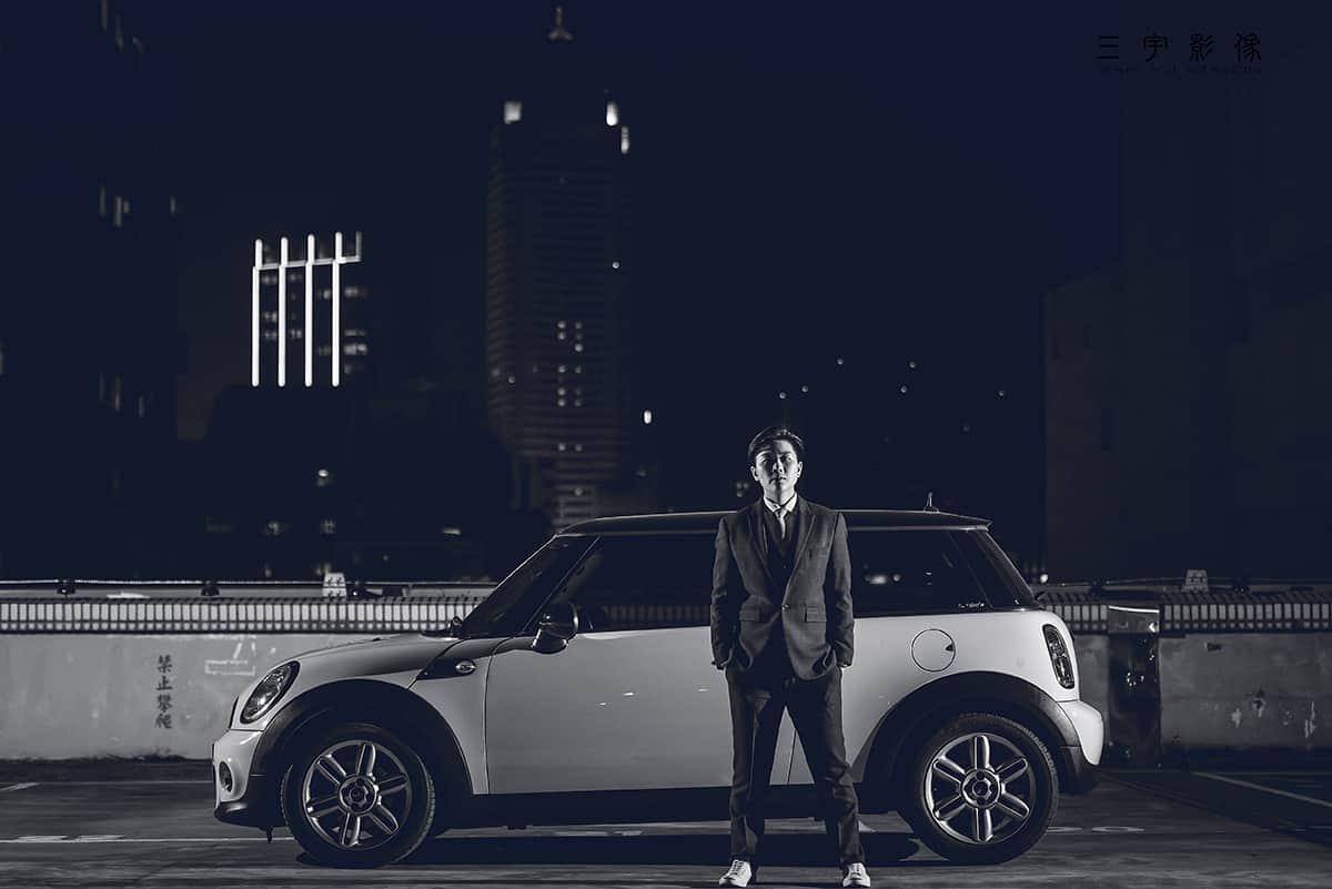 個人形象,mini,外拍,汽車,三宇影像,風雲20,cooper,台北,洛陽停車場,基隆